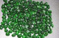 Szklany zielony
